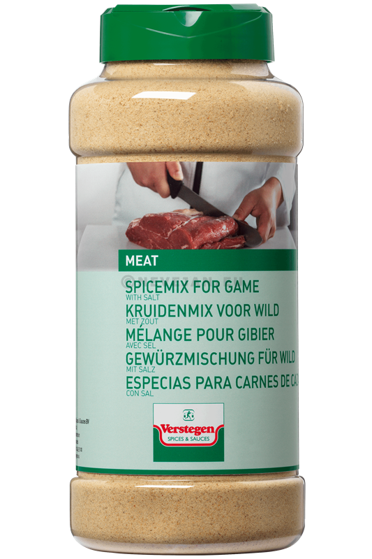 Verstegen Herb mix for Game with salt 750gr 1LP