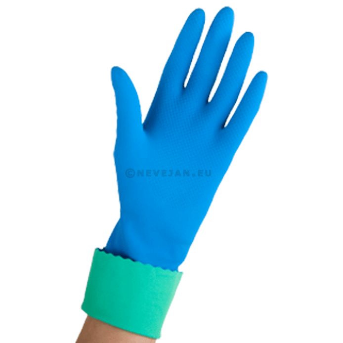 Vileda 1 pair of gloves medium Blue Comfort & Care