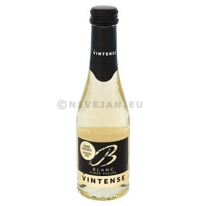 Vintense Fines Bulles white 20cl Sparkling Wine without Alcohol