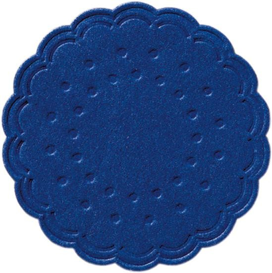 Coasters tissue dark blue 8-plies 7.5cm 250pcs Duni
