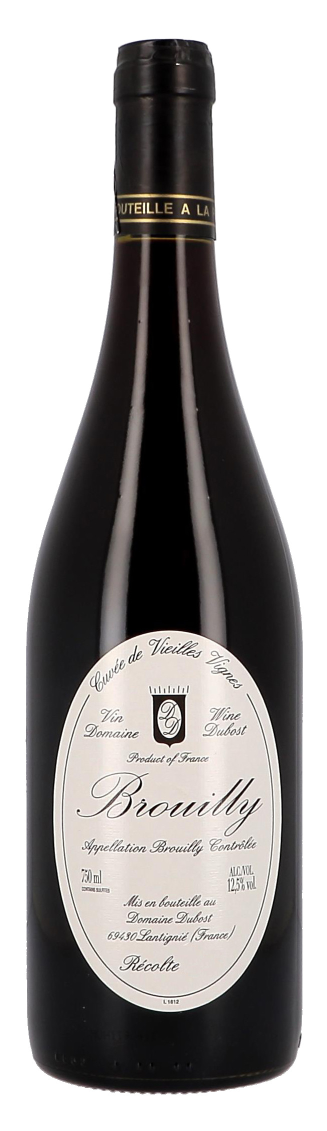 Brouilly Cuvee Vieilles Vignes 75cl Jean-Paul Dubost (Wijnen)