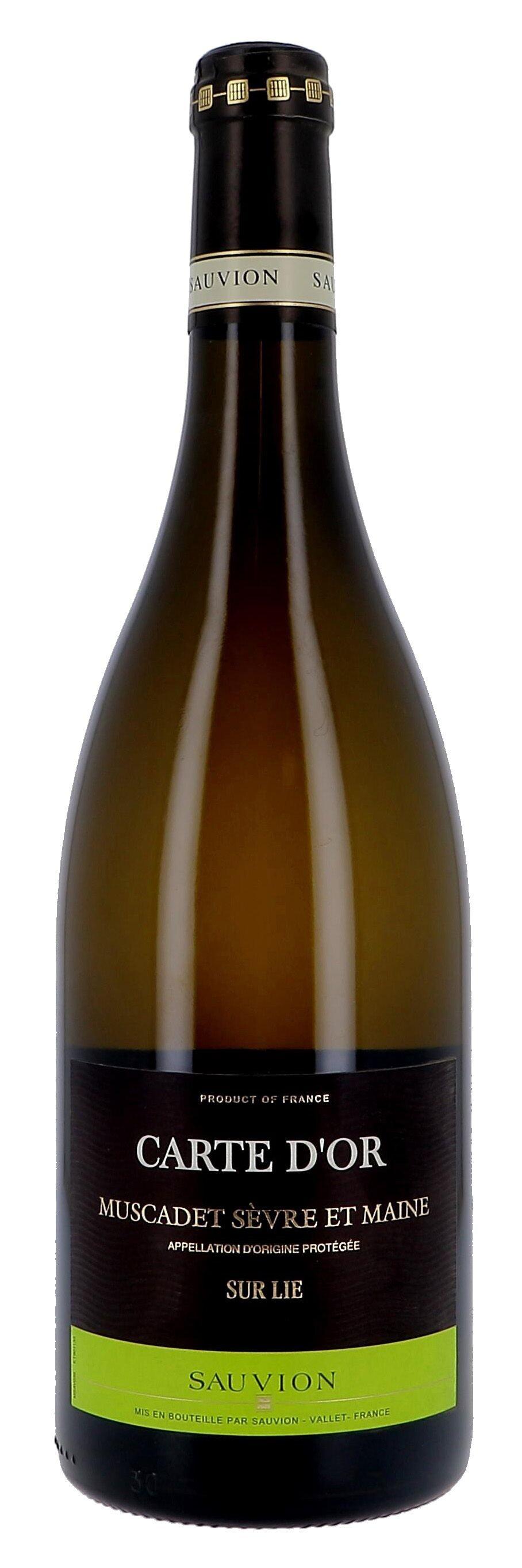Carte d'Or 75cl Muscadet Sèvre & Maine sur Lie - Maison Sauvion (Wijnen)