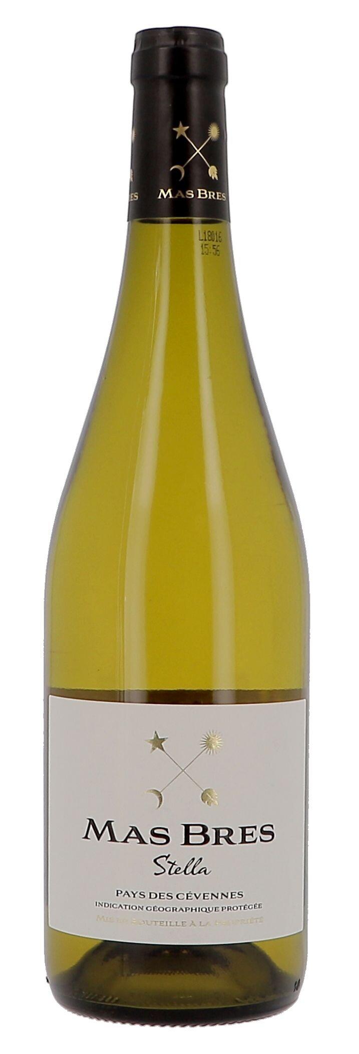 Mas Bres Stella white 75cl 2017 Domaine de Gournier IGP Pays des Cevennes (Wijnen)