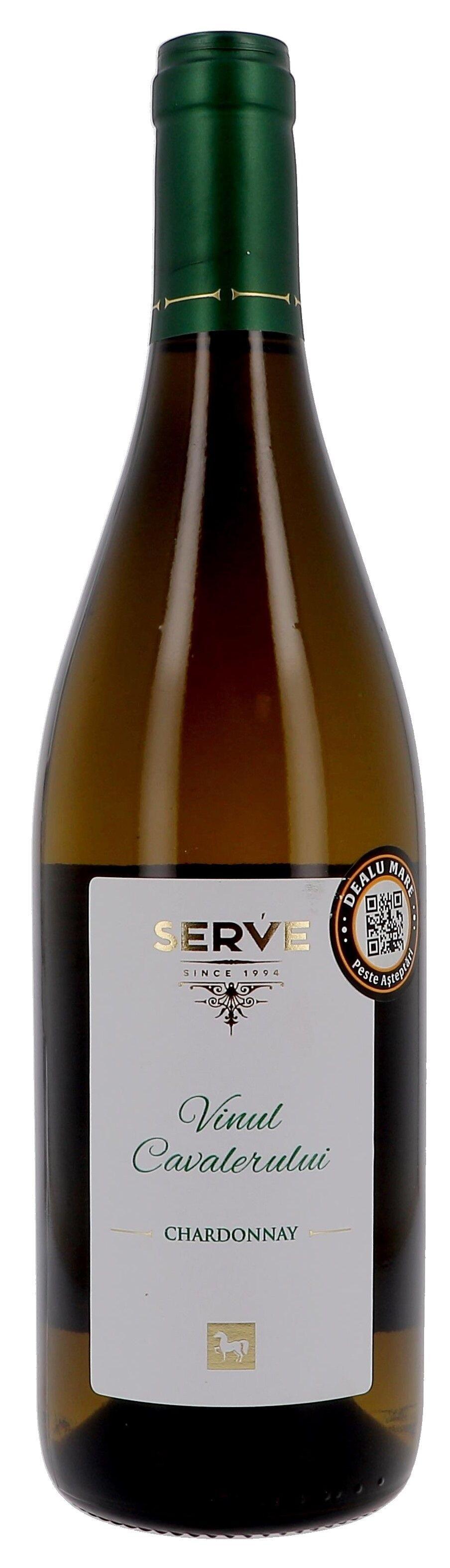 Vinul Cavalerului Chardonnay 75cl Serve Wines - Romania