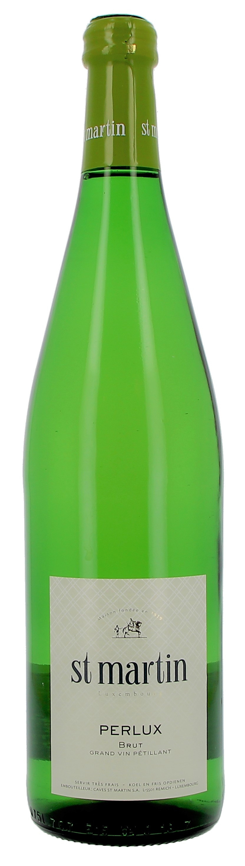 Sparkling Wine Perlux 75cl Brut - Caves St.Martin Luxembourg