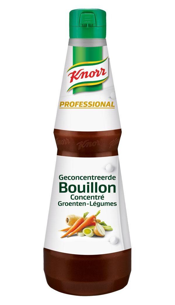 Knorr geconcentreerde groentebouillon 1L vloeibaar