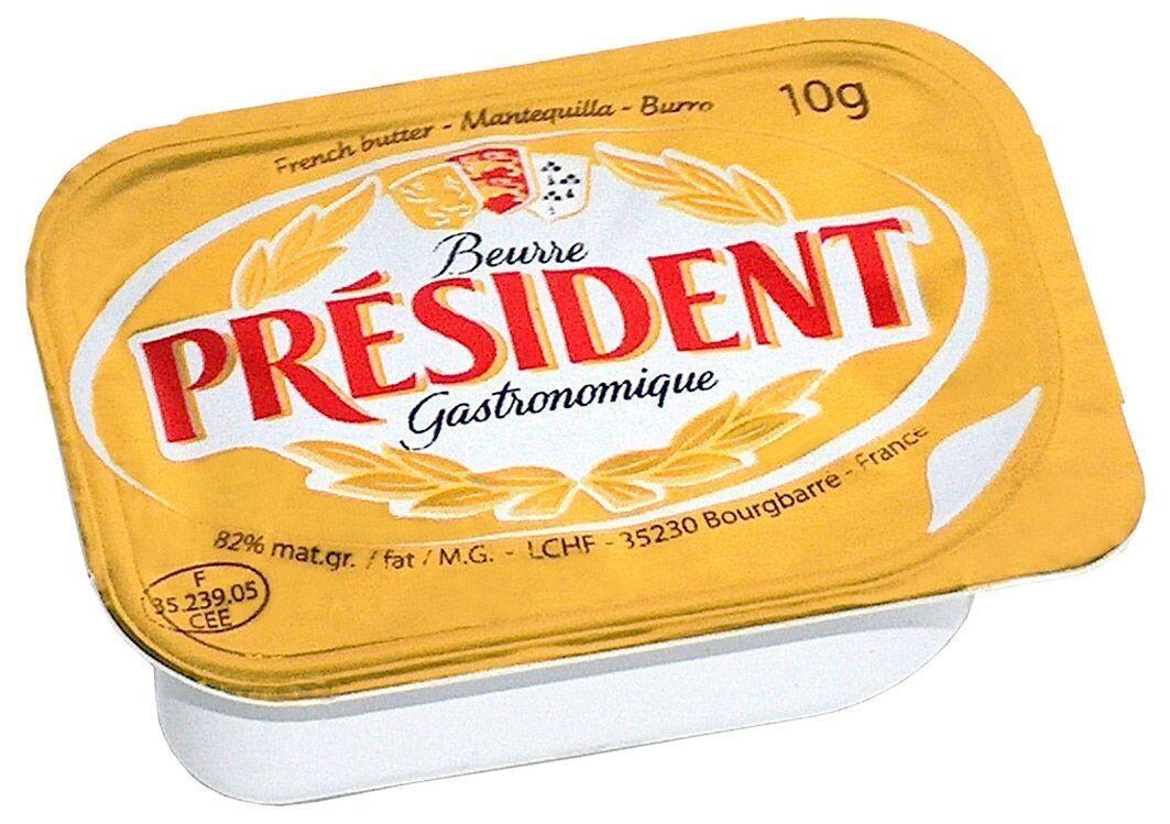 President Butter Portions 10gr cups 100pcs