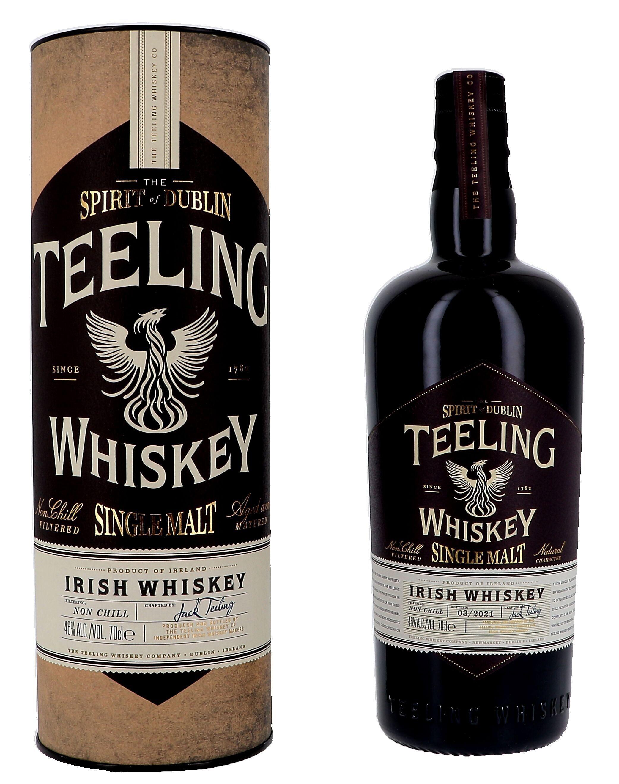 Teeling 70cl 46% Irish Single Malt Whiskey