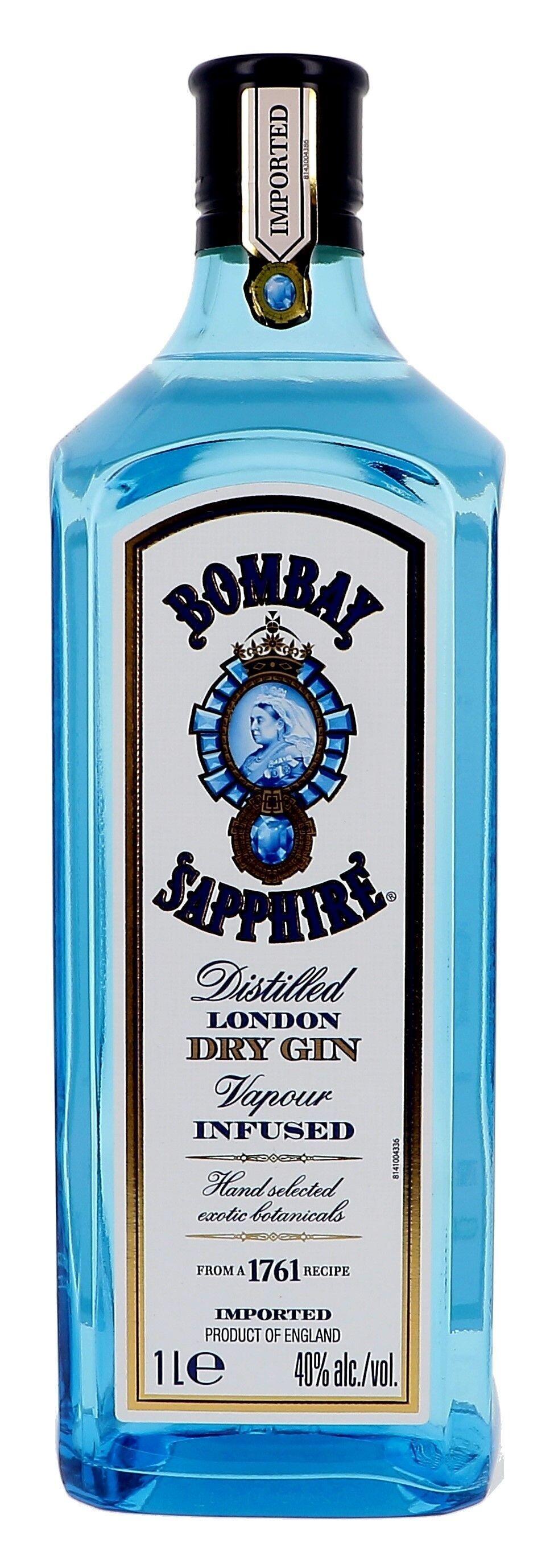 Gin Bombay Sapphire 1L 40% London Dry