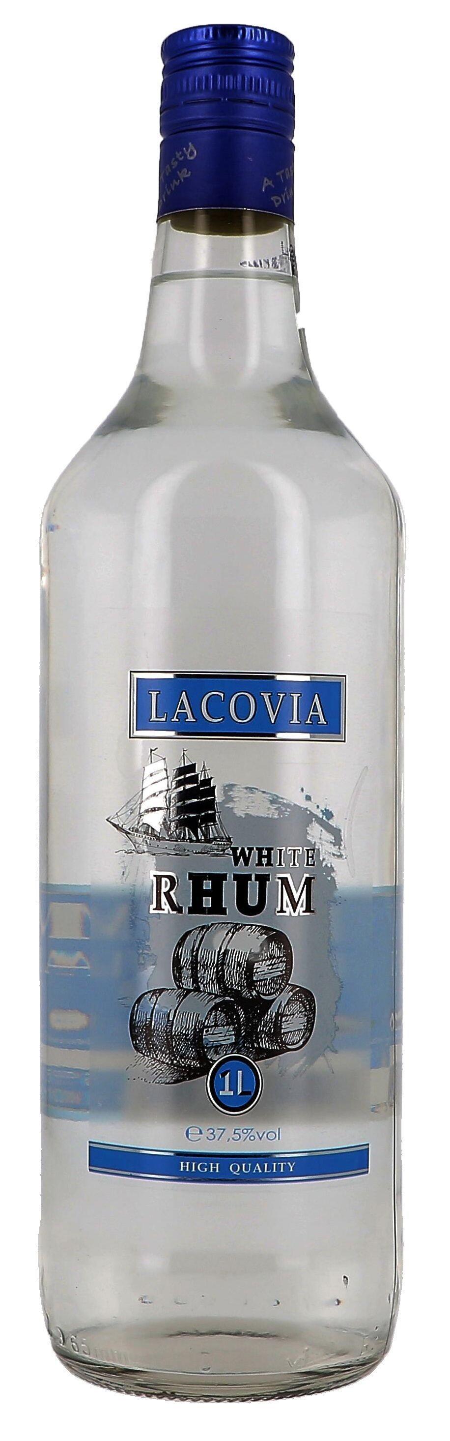 White Rhum Lacovia 1L 37.5% (Rum)