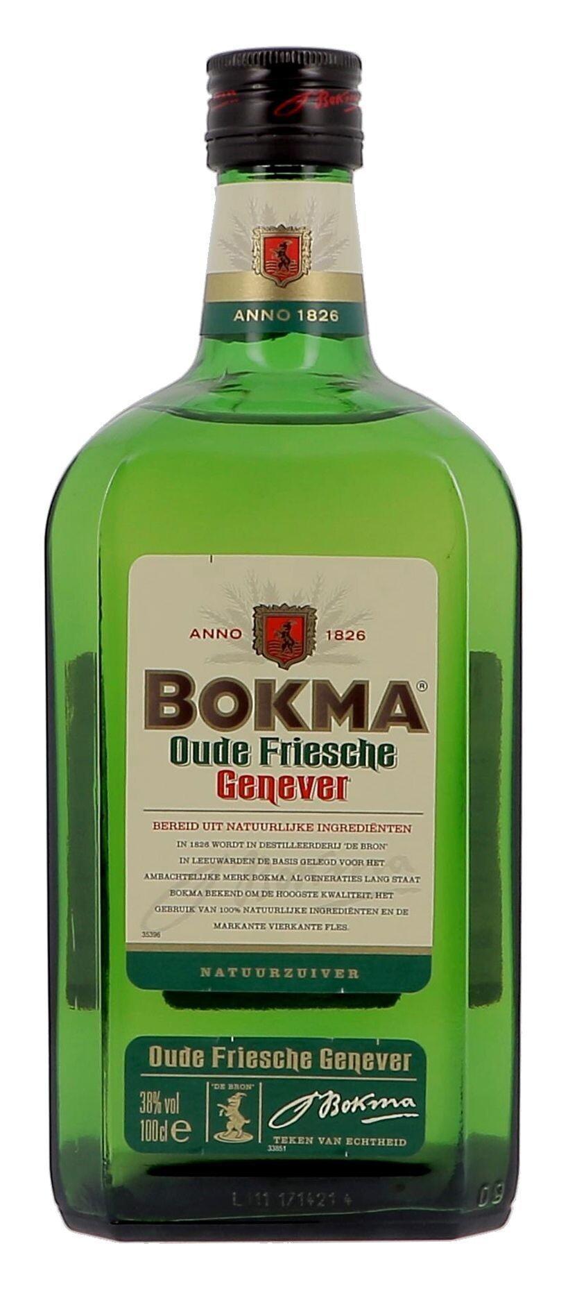 Bokma old genever 1L 38% (Jenever)