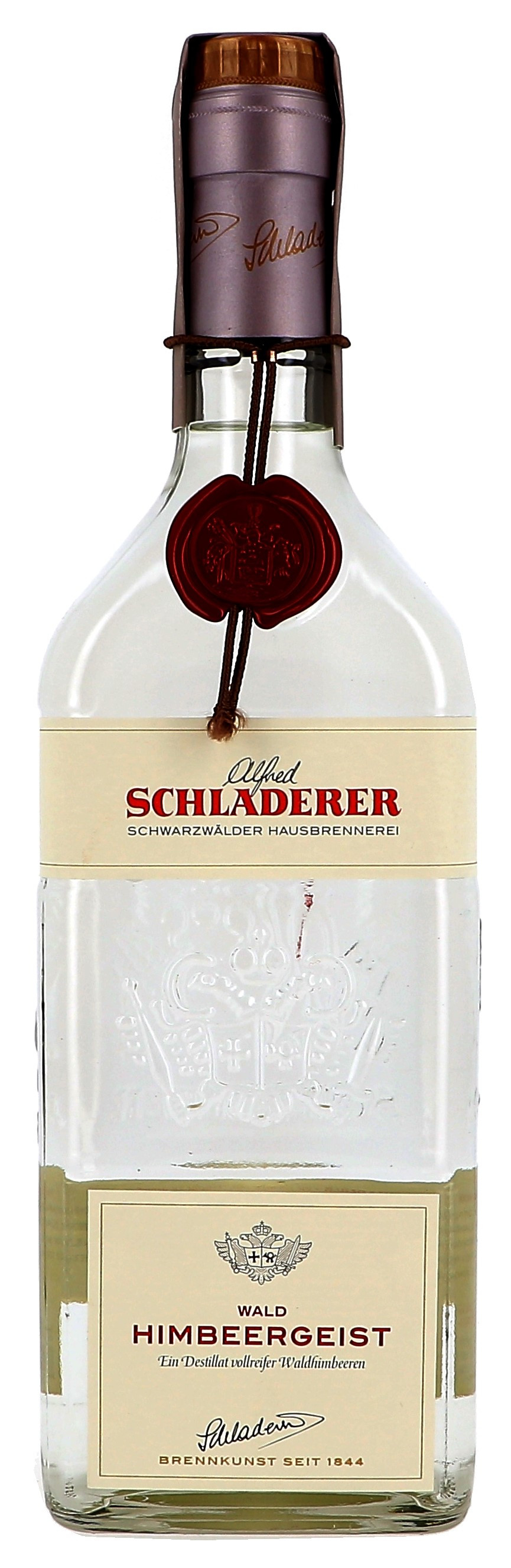Raspberry brandy 70cl 42% Schladerer Himbeergeist (Eau de Vie)