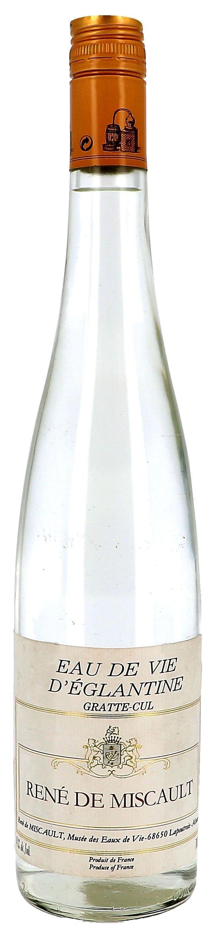Eau de Vie d'Eglantine Gratte-Cul 70cl 43% René de Miscault (Eau de Vie)