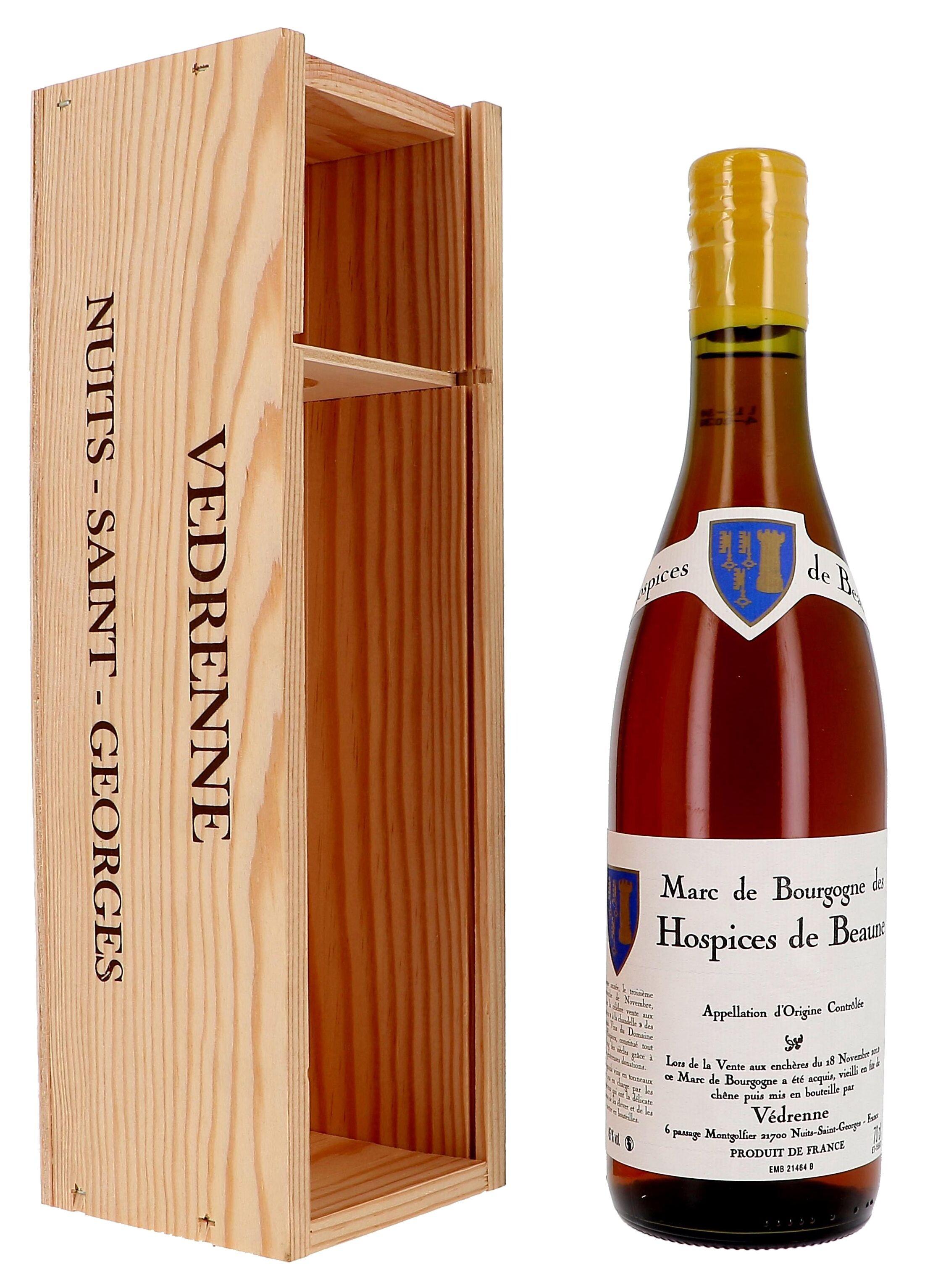 Eau de Vie de Marc de Bourgogne des Hospices de Beaune 70cl 45% Vedrenne (Eau de Vie)