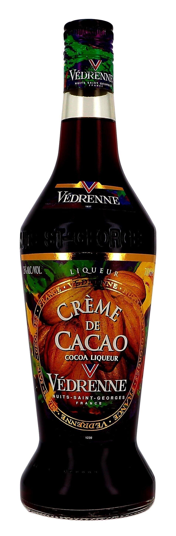 Vedrenne Creme de Cacao Dark 70cl 25%