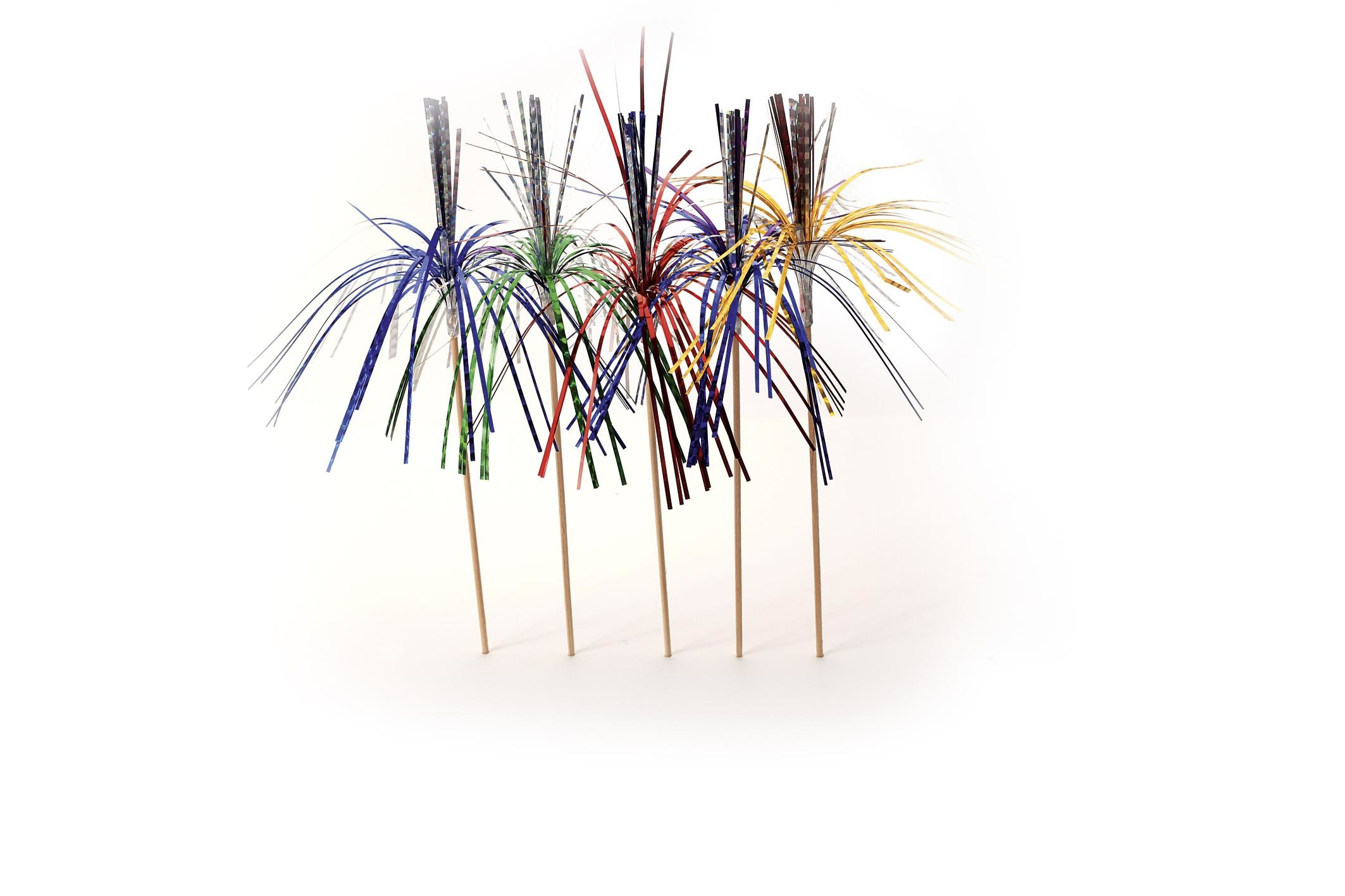 Palm tree Laser on pick 220mm 100pcs 40016 Sier Disposables