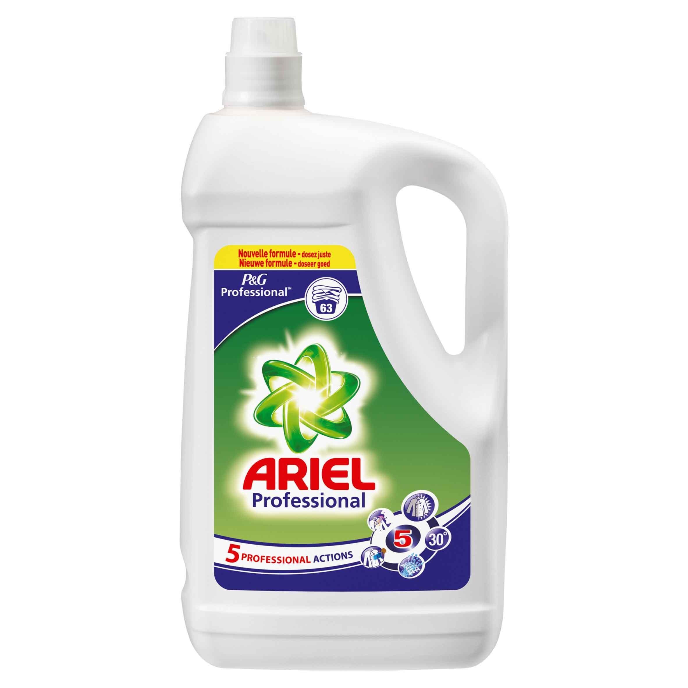 Ariel Actilift 63dos 5L vloeibaar wasmiddel P&G Professional