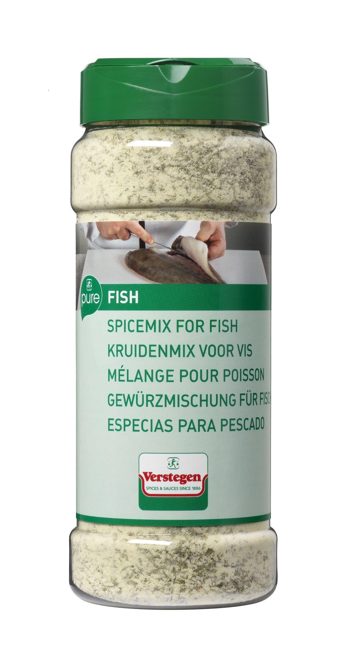 Verstegen Spice Mix for Fish 500gr Pure