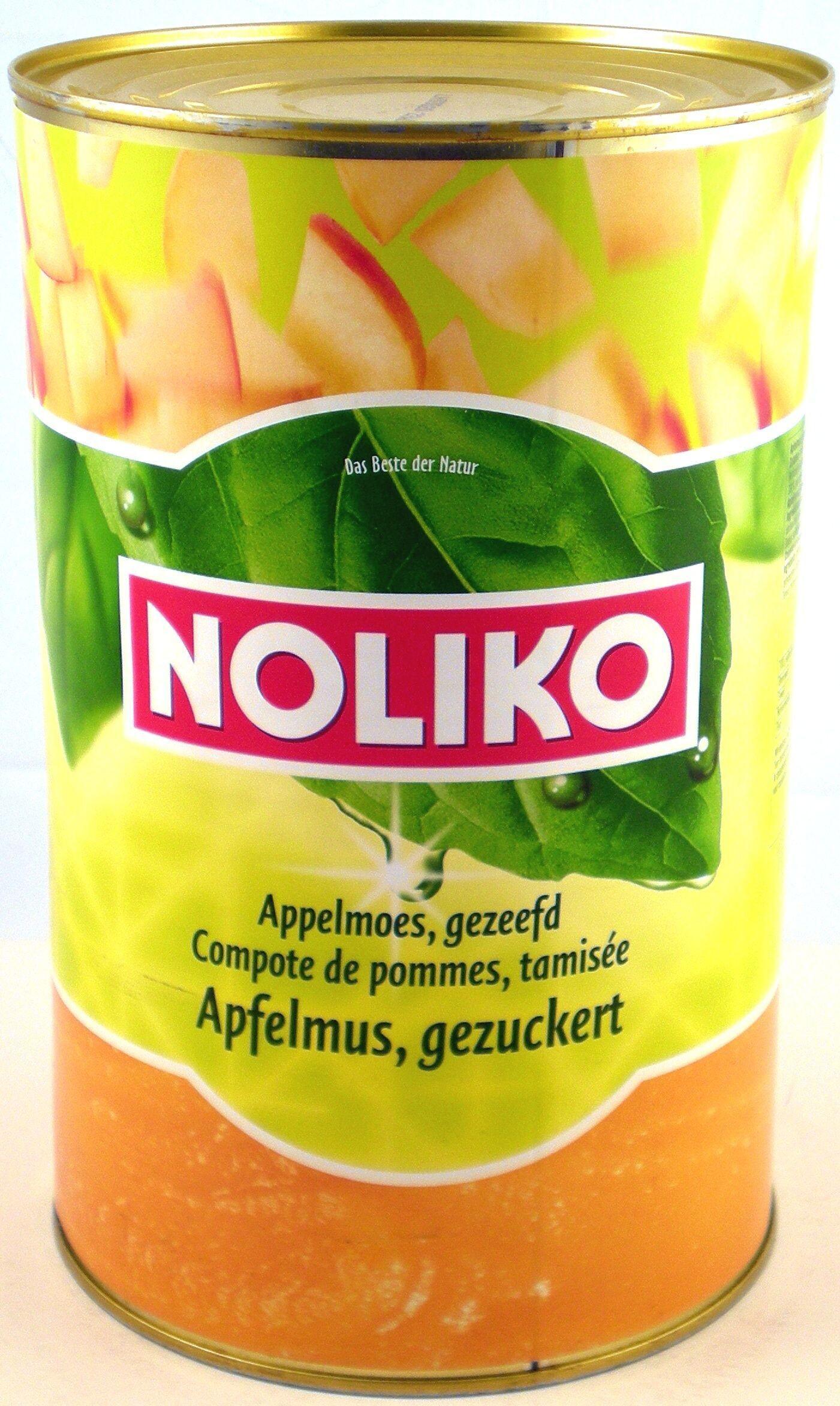 Noliko Apple Puree Sweetened 4250gr canned