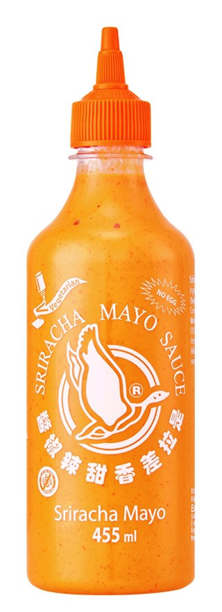 Sriracha Chili Mayonaise saus 455ml Flying Goose (Sauzen)