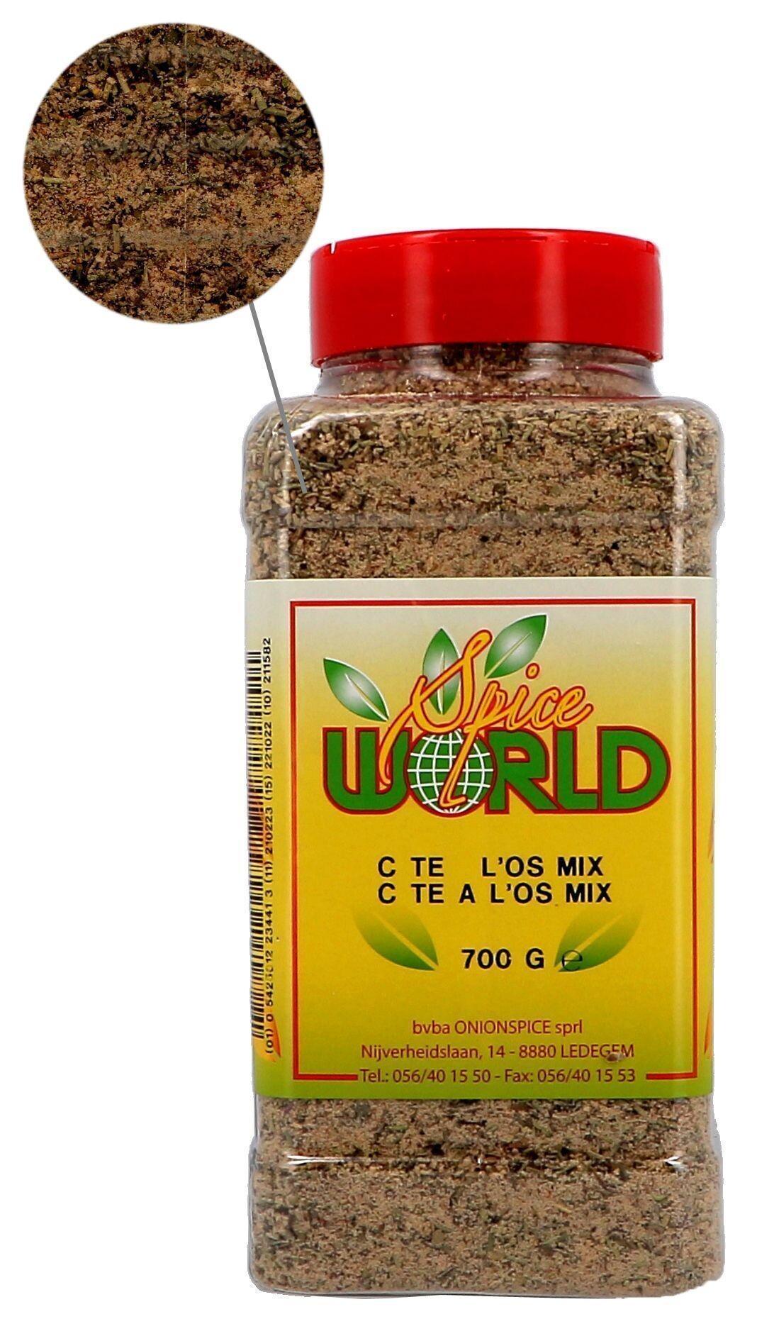 Cote a l'Os-mix kruiden 700gr Spice World (Isfi & Verstegen)