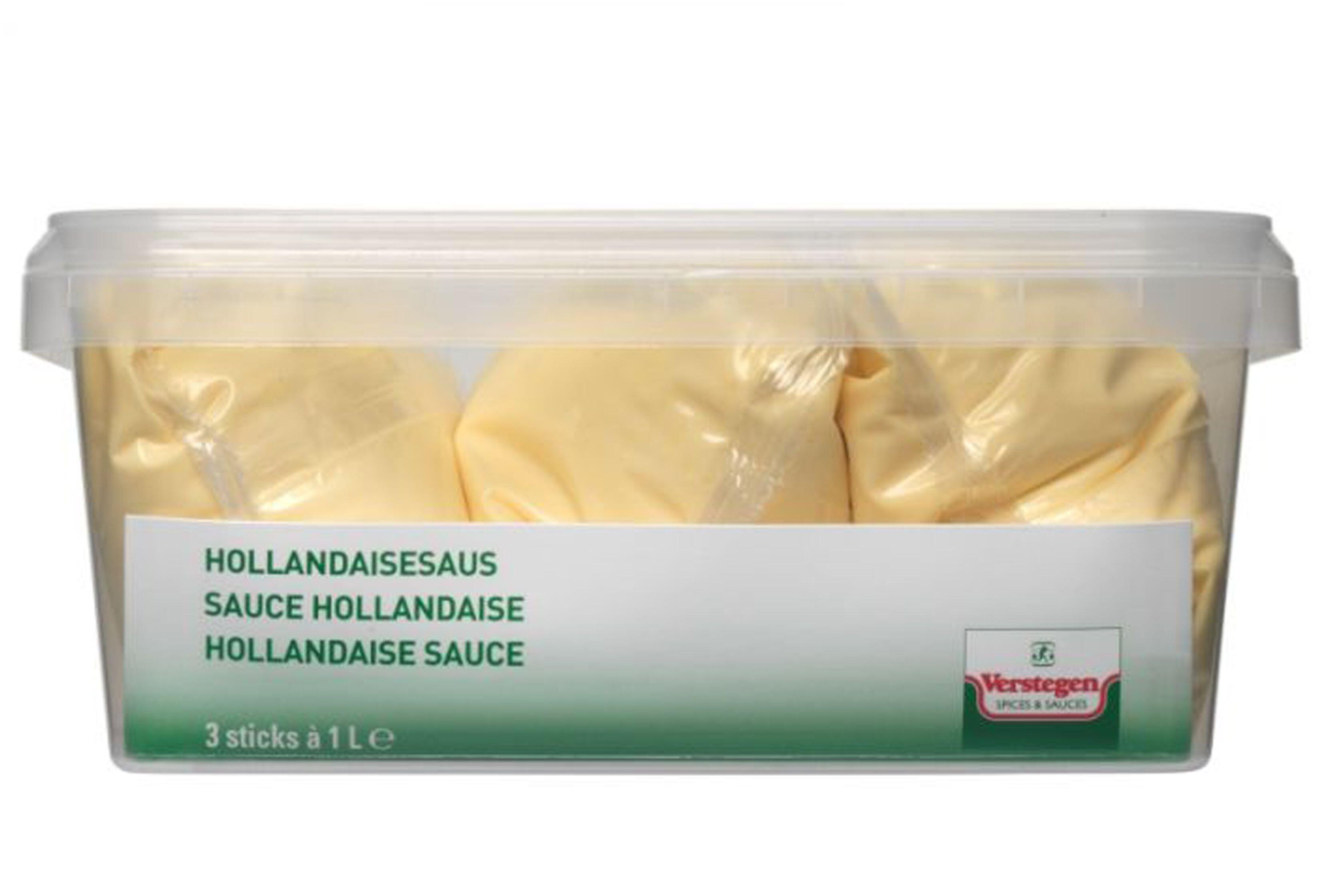 Verstegen hollandaise liquid sauce Warm Up 3x1L