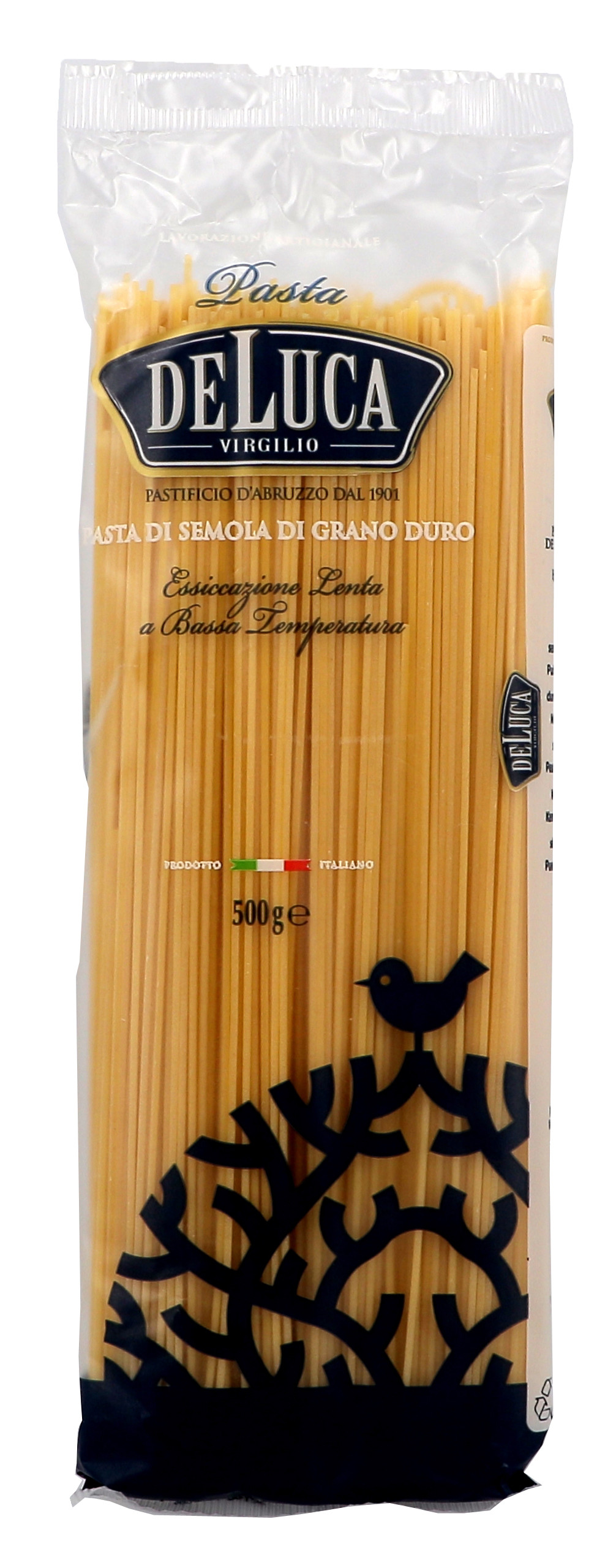 Pasta De Luca Fidelini Nº2 spaghetti 500gr zakjes pasta