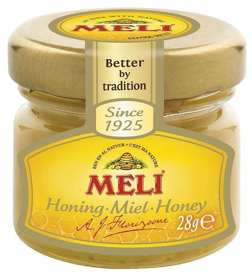 Meli set honey 34x28gr jar (Default)