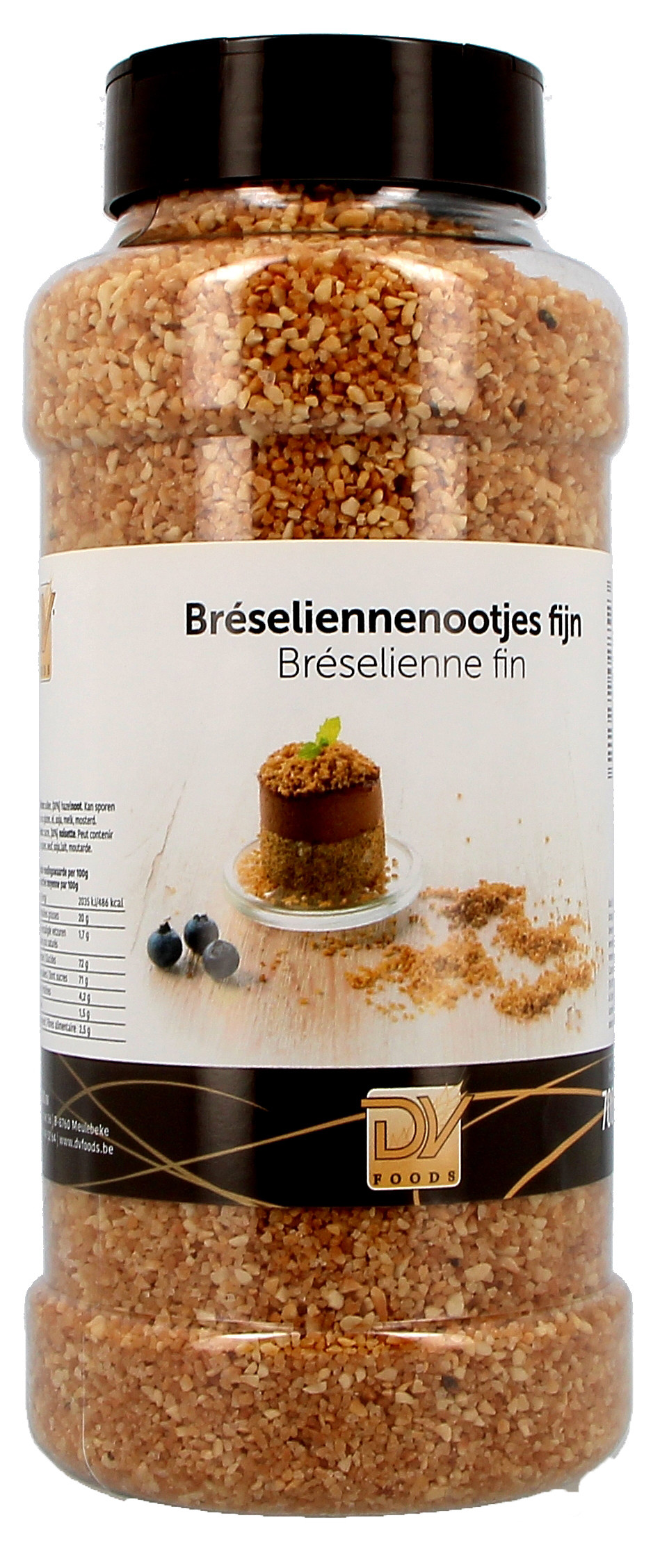 Nuts Bresilienne 700gr 1.54lbs DV Food