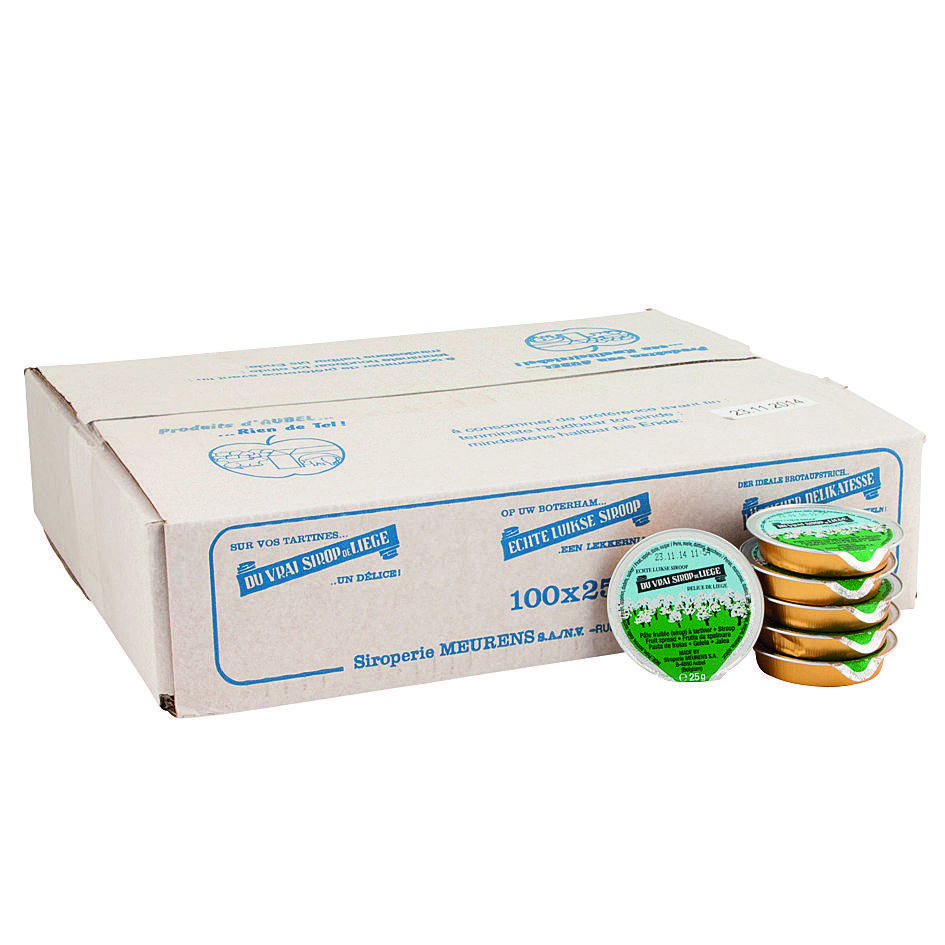 Sirop de liège individually portions 100x25gr Meurens