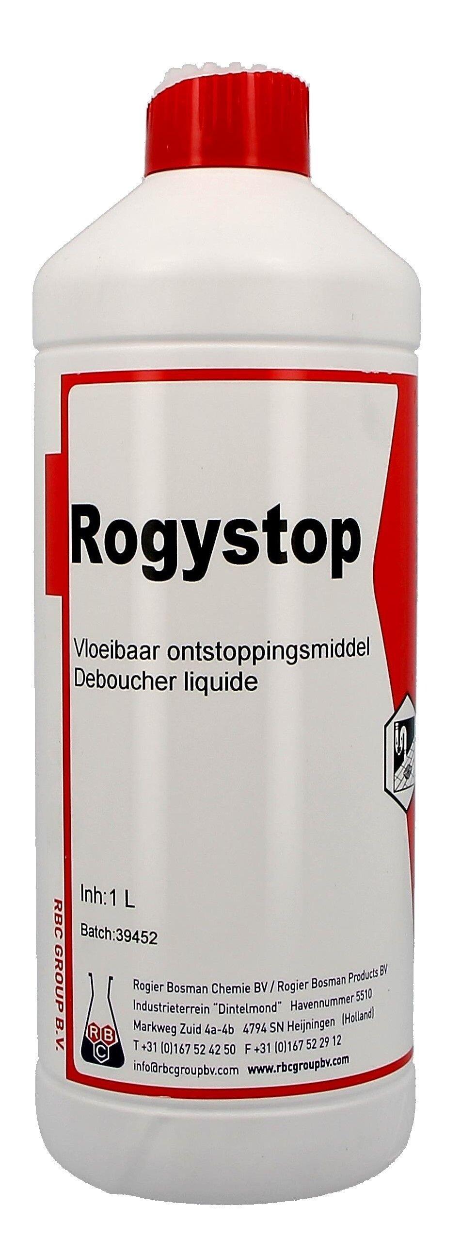 Drain cleaner 1L Rogystop Super (Reinigings-&kuisproducten)