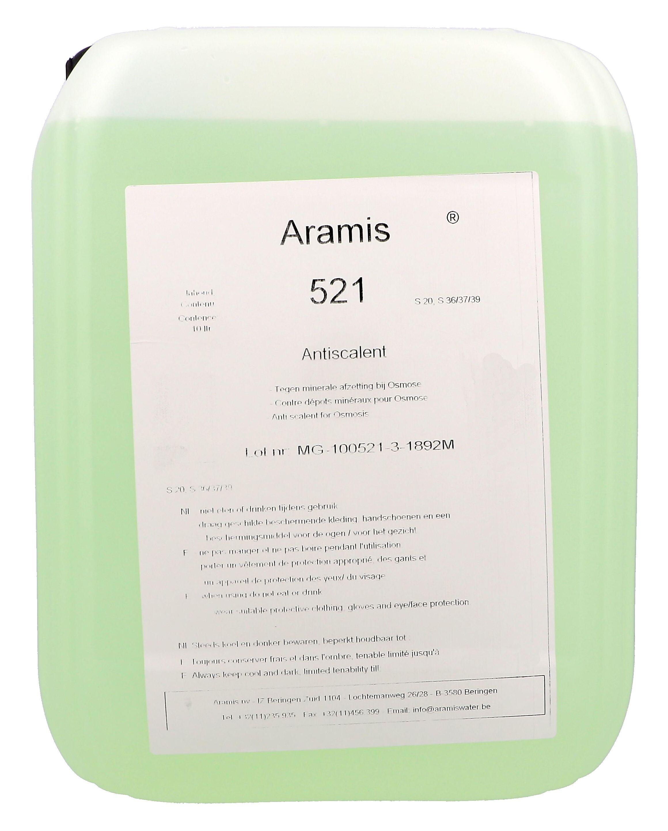 Aramis 521 Membrane Antiscalant 10L