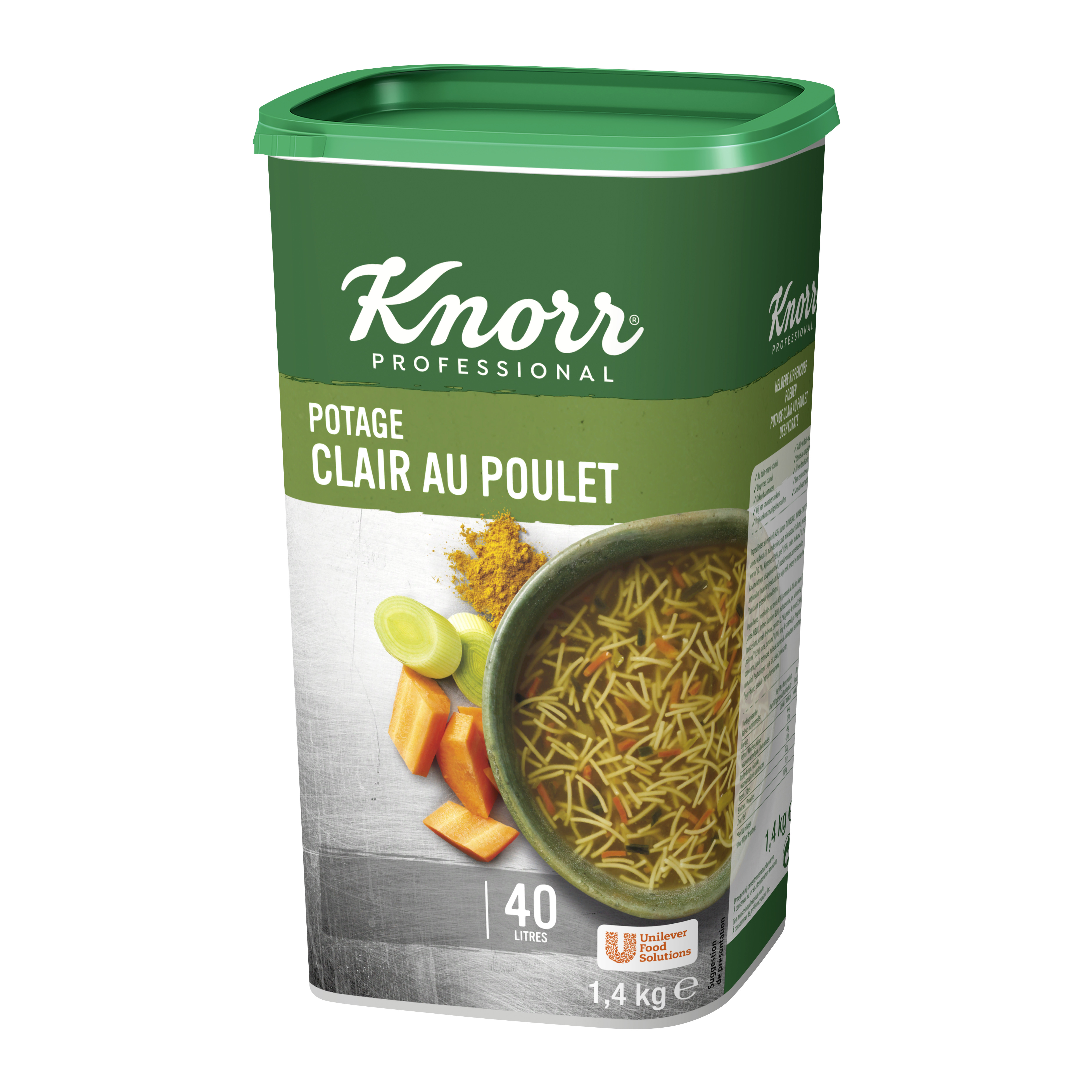 Knorr Soup double chicken 1.4kg Professional