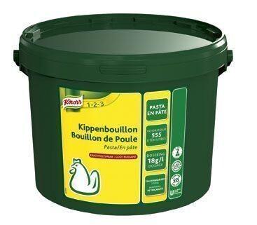 Knorr kippenbouillon pasta 10kg emmer