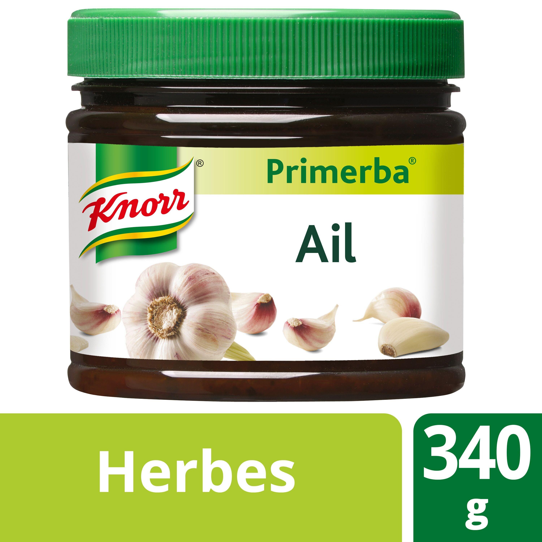 Knorr Primerba garlic herb paste 340gr Professional