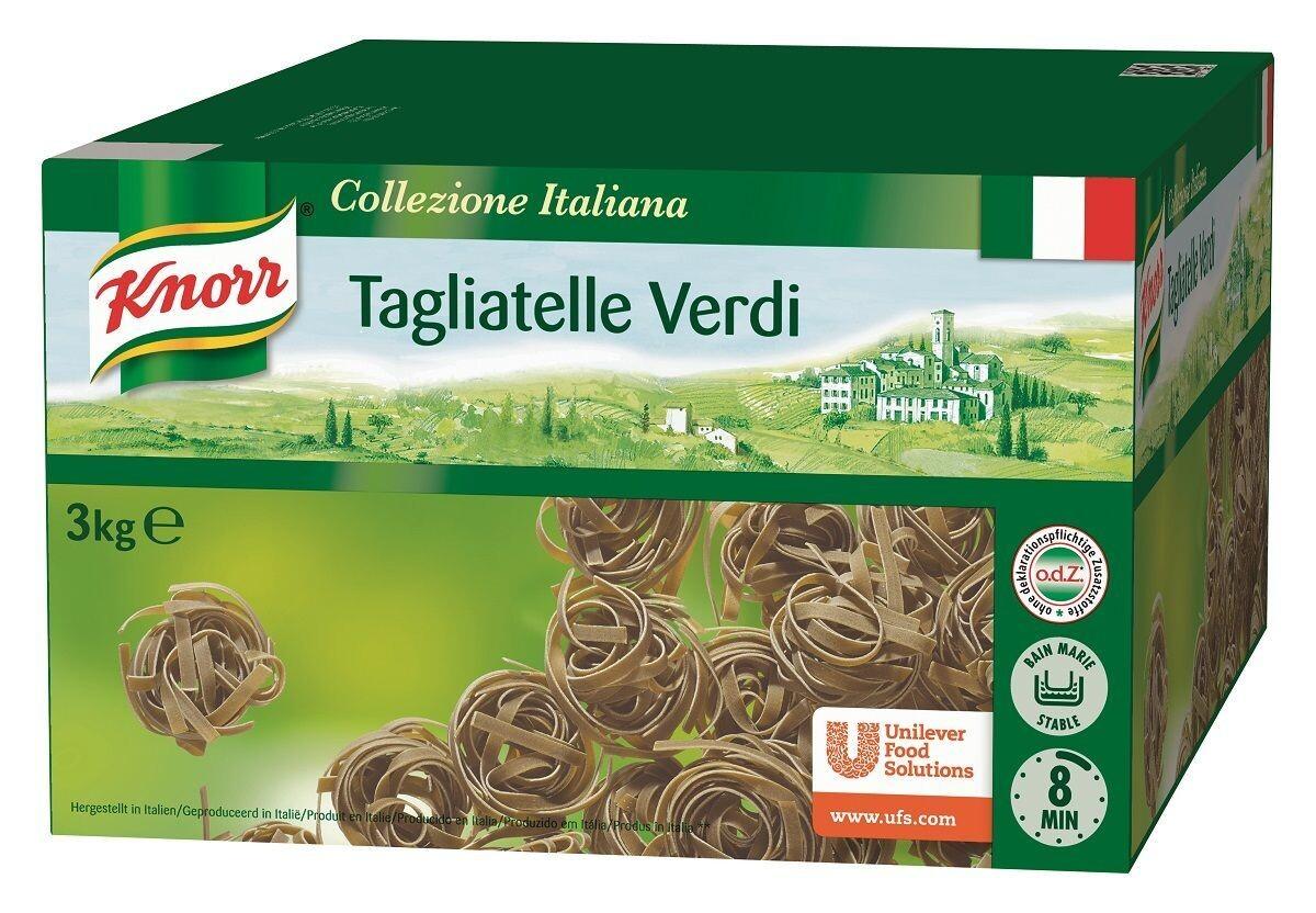 Knorr Tagliatelle Verde 3kg Collezione Italiana