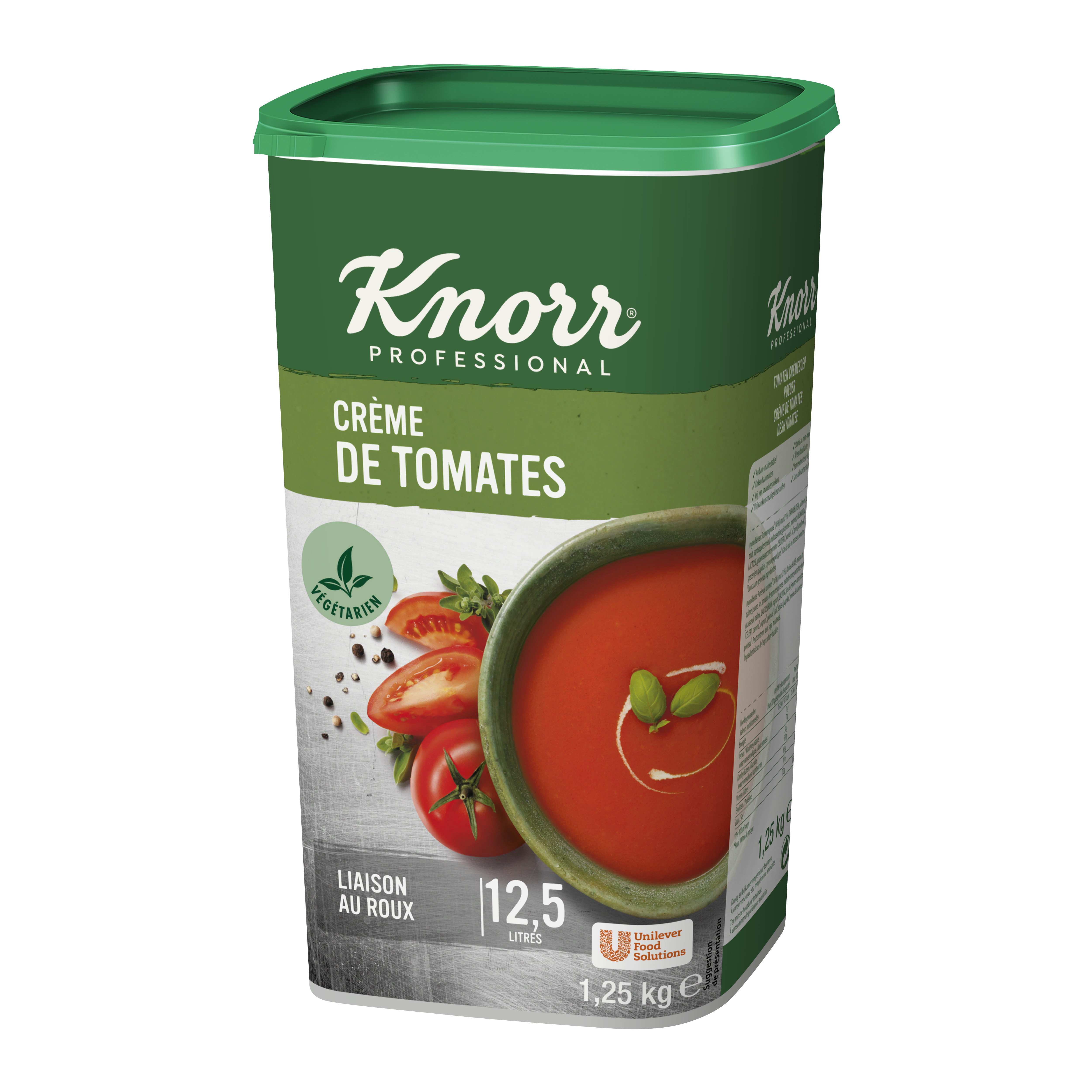 Knorr soup cream of tomato 1.25kg Professional