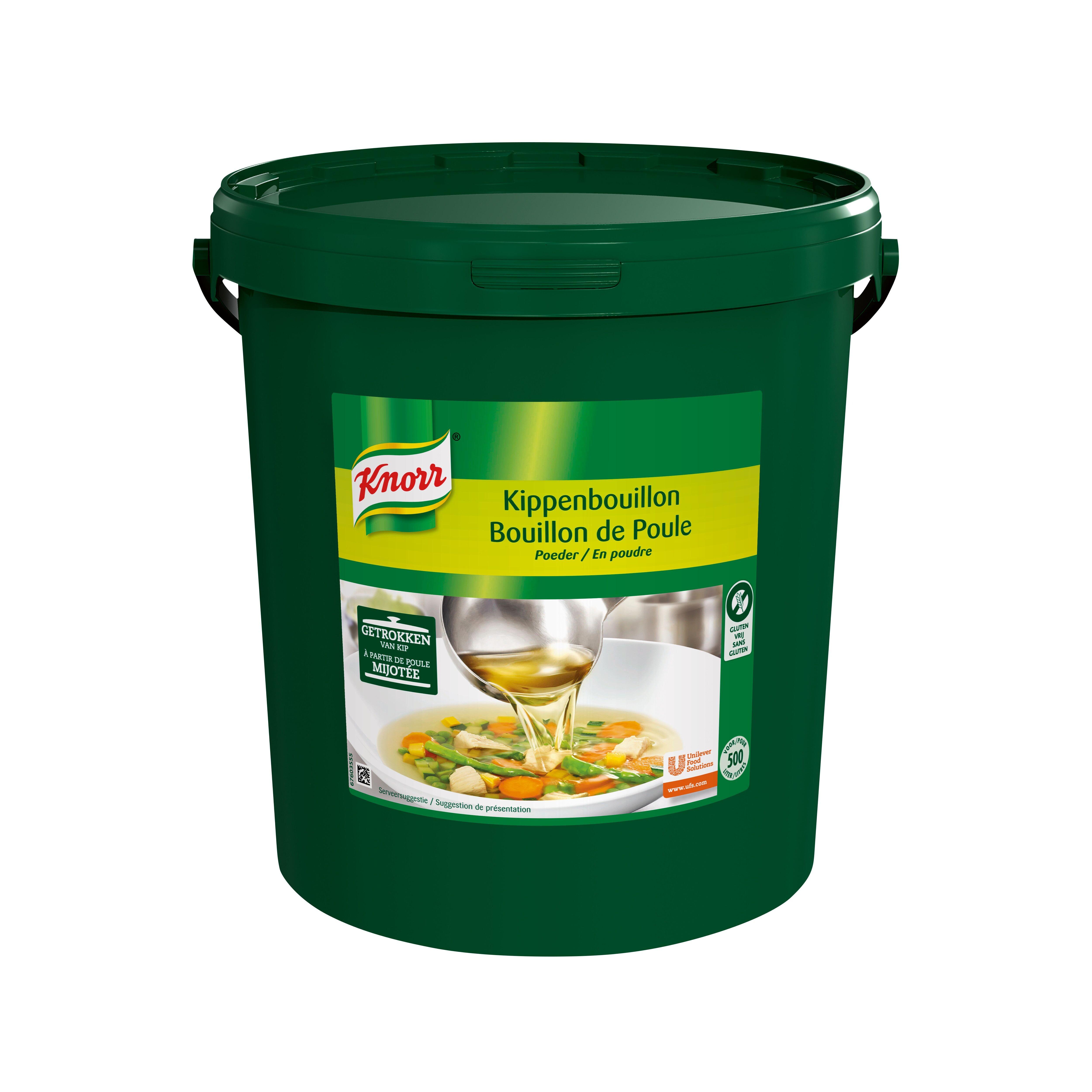 Knorr kippenbouillon poeder 10kg emmer