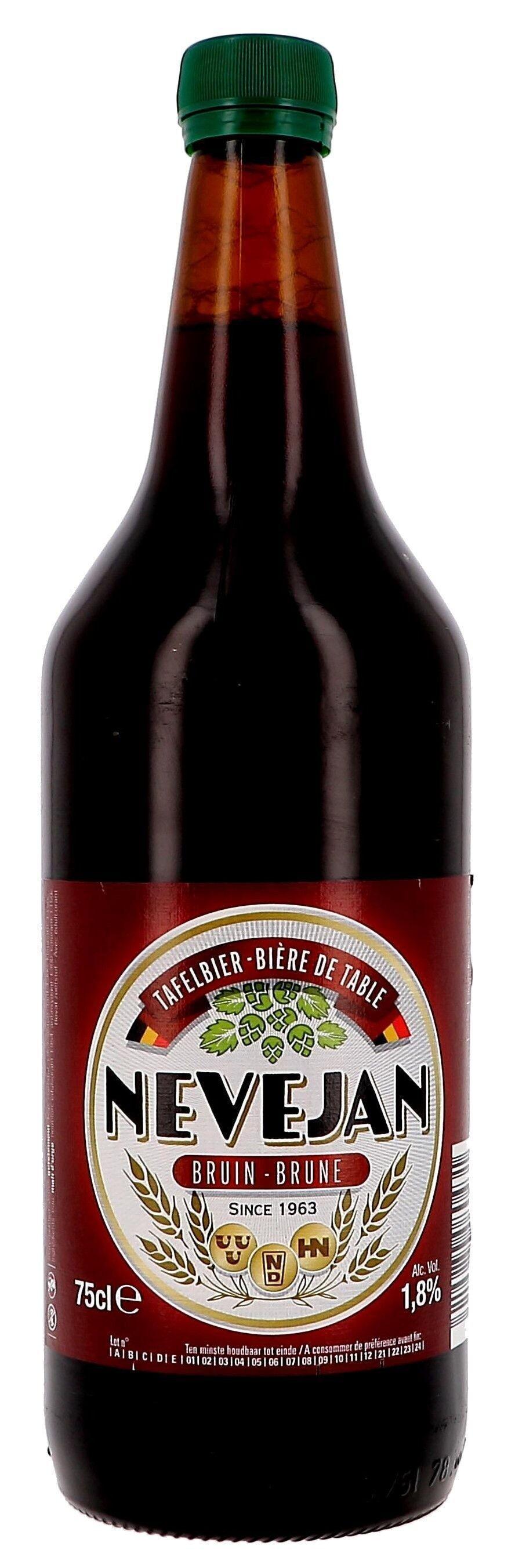 Tafelbier Nevejan bruin 75cl (Bier)