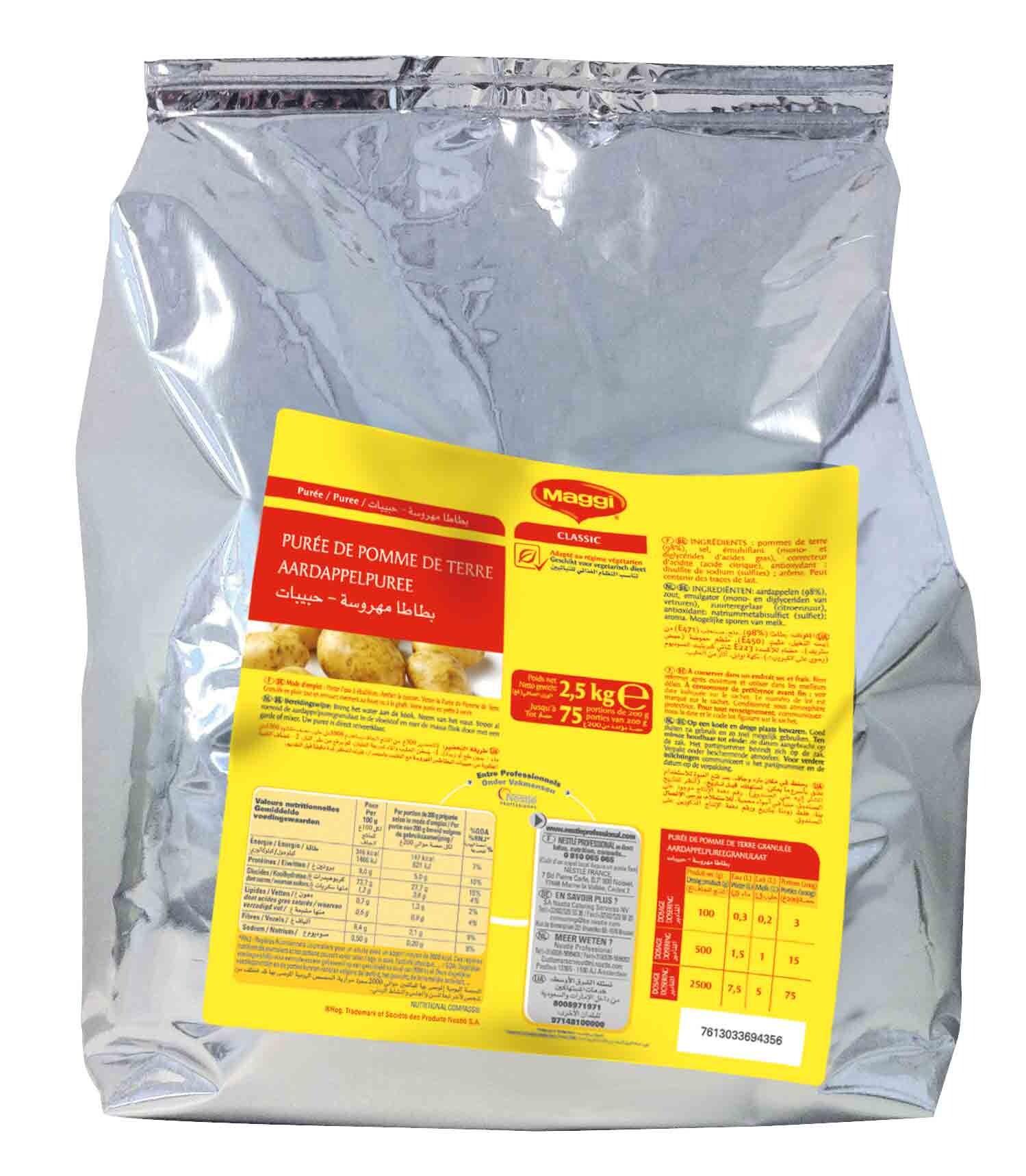 Maggi Mashed Potato Instant Mix 4.5kg