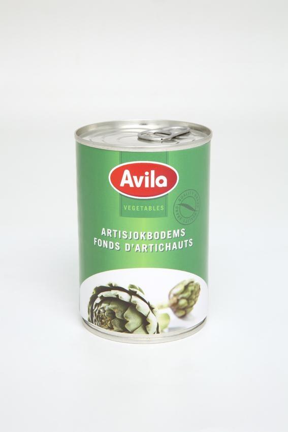 Avila Artichoke Bottoms 390gr canned