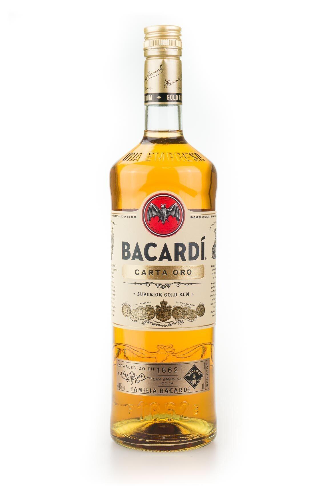 Rum Bacardi Carta Oro 1L 40%