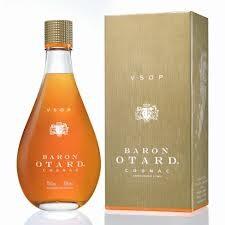 Cognac Baron Otard X.O. Gold  70cl 40% Giftbox