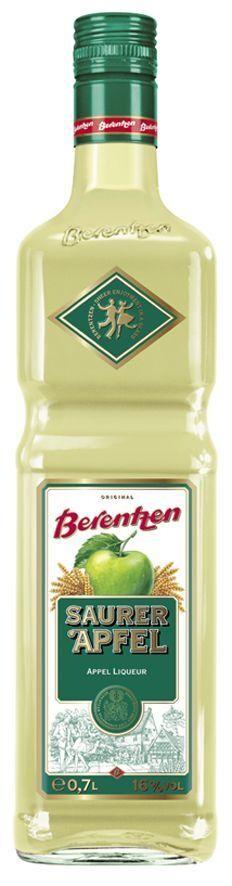 Berentzen Saurer Apfel 70cl 21% apple flavoured liqueur