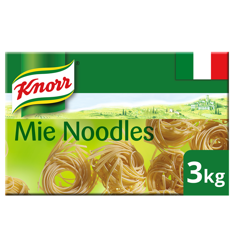 Knorr Mie Noodles 3kg Asian Selection