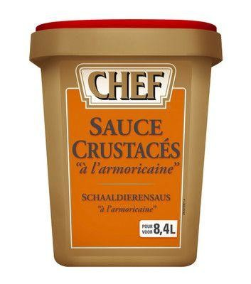 Chef Shellfish sauce dehydrated 960gr Nestle Professional