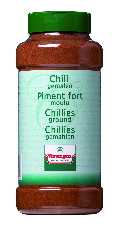 Verstegen Spices Chillies ground 450gr 1LP