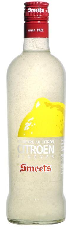 Smeets Lemon Fruit Jenever 70cl 20%