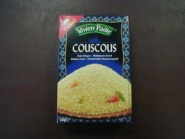 Couscous medium grain 1kg Vivien Paille