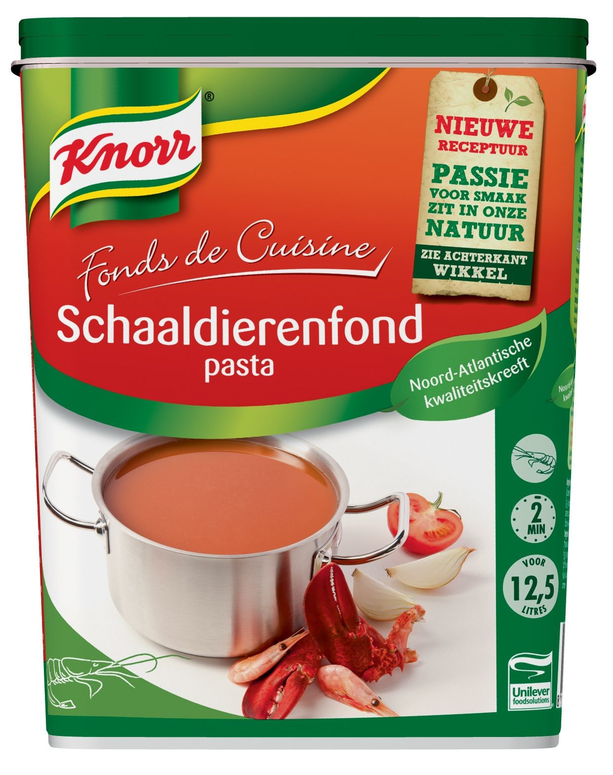 Knorr schaaldieren fond pasta 1kg